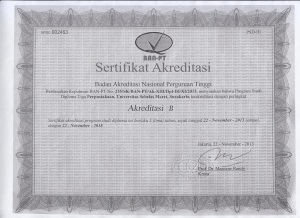 akreditasi d3 D III perpustakaan